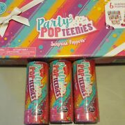 Lot Of 9 Party Popteenies Series 1 Toy Poppers