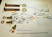 M151a2 Series Early 1969 To 1976 Contract - Windshield Wiper Motor Bolt Kit