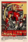 Iron Man 2 By Tyler Stout - Regular Signed And Numbered -rare Mondo Print Sold Out