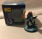 Rare Prodigy Math Game Diveodile Epics Vinyl Figurine Discontinued Collectible