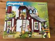New Playmobil Country 9315 Barn With Silo 222 Pieces Sealed Box