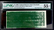 Test Note Error 1 2003 Federal Reserve Note Pmg 55 Epq About Unc- Top Rarity-9