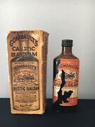 Vintage Antique Gombaults Caustic Balsam For Veterinarian Animal Or Human