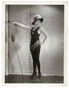 Thelma Todd Glamour Hat Cheesecake Pre-code Alluring Pose 1920s Orig Photo 372