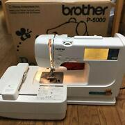 Used Brother P-500 Computer Sewing Machine Winnie The Pooh Embroidery 53