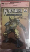 Wolverine Infinity Watch 1 Perez Varient Signed By George Perez 9.8