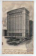 Frick Building Pittsburg Pa Postcard Postmarked 1907 With One Cent Wash Stamp