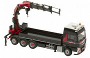 For Man Tgxandnbsptruck Tractor With Mounted Crane For Mammoet 1/50 Diecast Model Car