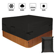 Heavy Duty Outdoor Hot Tub Spa Cover 5 Sizes Waterproof Dust-proof Uv Resistant