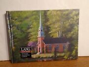 Lang Pub. Three Paper Items- Guest Book Photo Album Note Pad-new