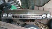 1968 Chevy Impala Grill Header Radiator Support Assembly