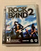 Rockband 2 Rock Band Playstation 3 Ps3 Complete Video Game With Case And Maunal