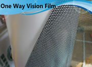 White One Way Vision Car Glass Film Print Media Sticker Car Headlight Tint Roll