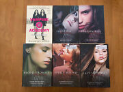 Vampire Academy Series Set Books 1 2 3 4 5 6 By Richelle Mead Mixed Lot