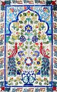 Large Decorative Ceramic Tiles Mosaic Panel Hand Painted Home Kitchen Wall Art