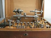 Vintage Star Co Watchmaker Lathe Set-quality 8 Mm Swiss Made