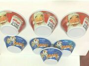 4 Kelloggs Frosted Flakesand 3corn Flakes 100th Anniversary Cereal Bowls 2006