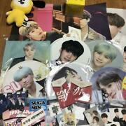 Bts Yungi Set Fan Flag Poster Mini Photo Cup Holder Official Master Very Rare