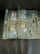 4 Chivas Regal Scotch Whisky Cocktail Glasses Bar-ware Drink-ware Collectibles