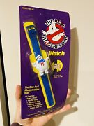 Vintage The Real Ghostbusters Watch The Stay Puft Marshmallow Misb 1986