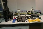 Playmobil Rc Train, Track, Remote, People, Suitcase. 4011 From 2005-08