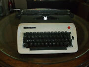 Olympia Manual Portable Typewriter Serviced And Tested With New Ribbon Installed