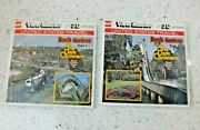 Busch Gardens The Dark Continent Viewmaster Sets J4 And J5 Rare 2 Packets  X400