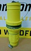 Crouse Hinds Cooper Roughneck Camlok E1049 Series Male Plug Insulator Yellow