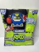 New Sealed Really Rad Robots Prankbro 50+ Functions Remote Controlled Free Ship