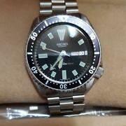 Seiko 6309-7290 Vintage Diver Day Date Automatic Mens Watch Authentic Working