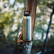 Sigg Swiss Bottle Thermo Flask Hot And Cold Bushed 1l Stainless Steel 851620 New