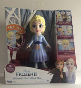 Disney Frozen Ii Adventure Storytelling Elsa Doll-50 Phrases And Sounds-new In Box