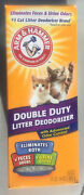 Pack Of 4 Arm And Hammer Cat Litter Deodorizer Double Duty 30oz.