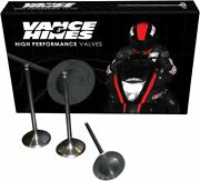 Vance And Hines Titanium And Stainless Valve Kits Stainless Steel Standard Intake