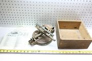 Rare And Early Antique 1890's Odell No. 3 Typewriter W/ Original Box And Manual Usa