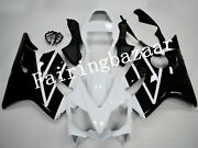 Fit For 2001-2003 Cbr600 F4i White Black Abs Plastic Injection Fairing Kit