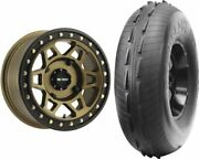 Mounted Wheel And Tire Kit Wheel 15x7 5+2 4/136 Tire 32x10-15 2 Ply