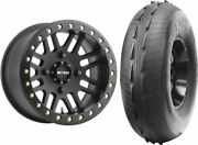 Mounted Wheel And Tire Kit Wheel 15x8 4+4 4/136 Tire 32x10-15 2 Ply