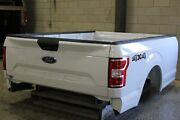 Oem Factory 15-21 F150 8' Long Bed New Take Off Aluminum White F-150 Truck Box