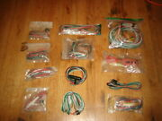 Nos Workman Electronics Car Stereo Connector Cord W/fuse Fits Muntz Ect. 12 Lot