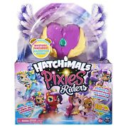 Hatchimals - Pixies Riders - Lilac Luna And Swanling Glider - Spinmaster - Ages 5+