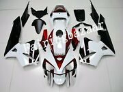 Fit For 2005 2006 Cbr600rr White Candy Red Black Abs Injection Mold Fairing Kit