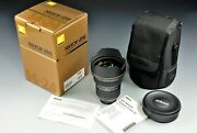[near Mint Iop] Nikon Af-s Nikkor 14-24mm F/2.8g Ed If Asph. Lens [from Taiwan]