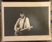 Kevin C. Goff Bruce Springsteen Signed Print 1975 First Show At The Roxy