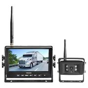 Haloview Mc7108 Wireless Rv Backup Camera System 7and039and039 Monitor Built In Dvr Rea...