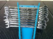 Aj589 New 2019 Snap On Soxrrm710 10 Pc Metric Dual 80 Flank Dr Plus Wrench