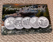 Cable Shopping Network America The Beautiful 2016 Platinum Edition Coins
