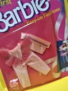 Vtg Barbie Superstar 80s Doll Clothes My First Easy On Fashions 1988 1870 Ballet