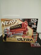 Nerf Ultra Two Motorized Blaster With 6 Nerf Ultra Darts New In Box And Batteries