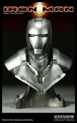 L@@k Iron Man Mark 2 Ii Life Size Bust Statue Sideshow Brand New Low 35